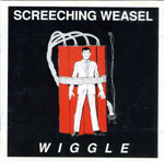 Screeching Weasel's album cover for Wiggle