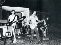 Screeching Weasel circa 1989, photo by Pauline Poisonous