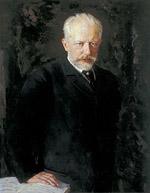 Tchaikovsky by Nikolai Dimitriyevich Kuznetsov 1893