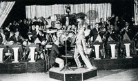 Cab Calloway and his orchestra.