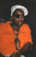 Slick Rick, eye patch and all.