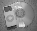 Ipods and cds, oh my!
