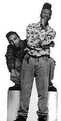 Dres and Mista Lawnge, photo from Wikipedia.